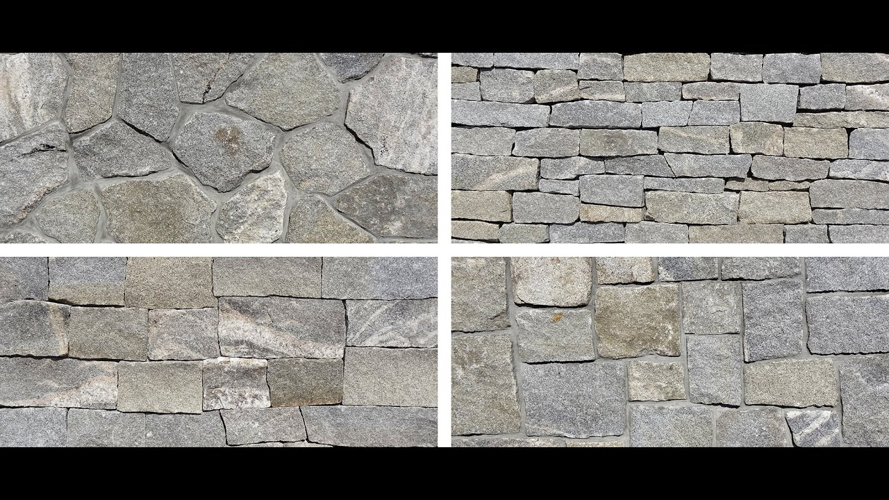 Thin Granite Stone : Portsmouth granite natural thin stone veneer by stoneyard
