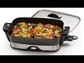 Best 3 Kitchen Appliances #04  Electric Skillet, Touchscreen Soup Maker, Grindenstein