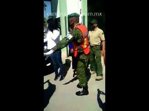 Llegada de AMLO a la 8 Zona Militar de Reynosa, Tamaulipas