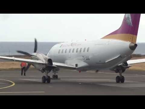 Madagasikara Airways,Embraer 120,ZS-SOC @ St Pierre-Pierrefonds (ZSE)
