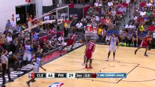 Cleveland Cavaliers vs Philadelphia 76ers | July 14, 2014 | NBA Summer League 2014