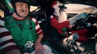 Lexus presents Santa's Hot Lap: Wreck the Halls
