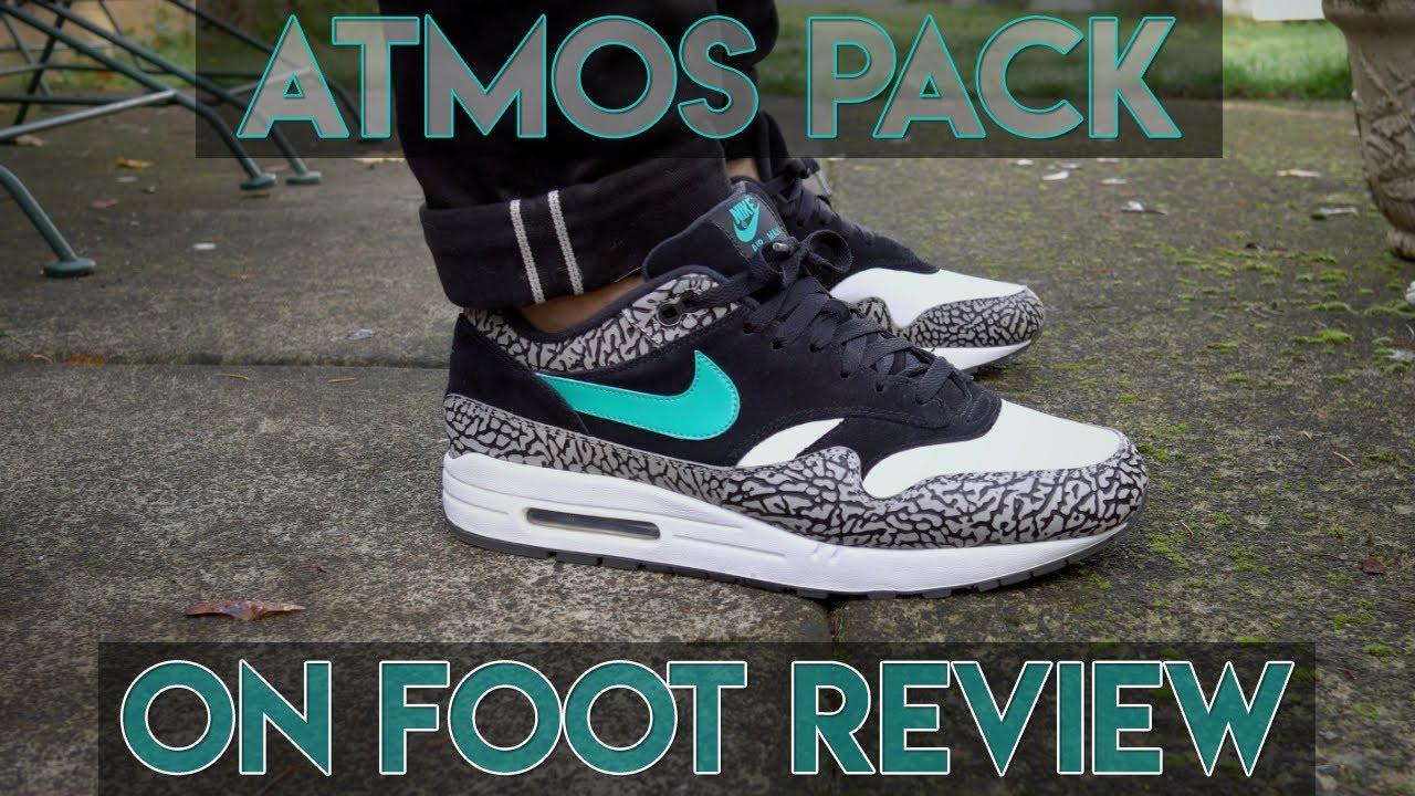 51bb8e43bdc NIKE x JORDAN ATMOS PACK ON FOOT REVIEW! - YouTube