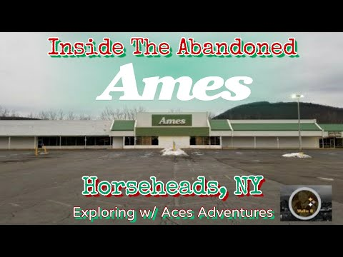 Inside Abandoned Ames Horseheads, NY - Exploring With Ace's Adventures