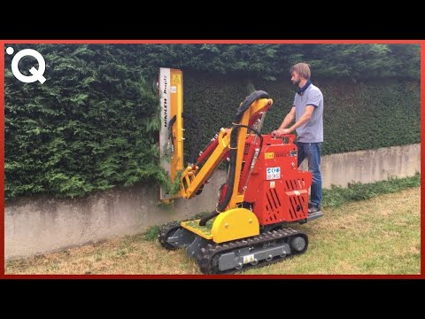 Amazing Grass Cutting Machines And Ingenious Tools