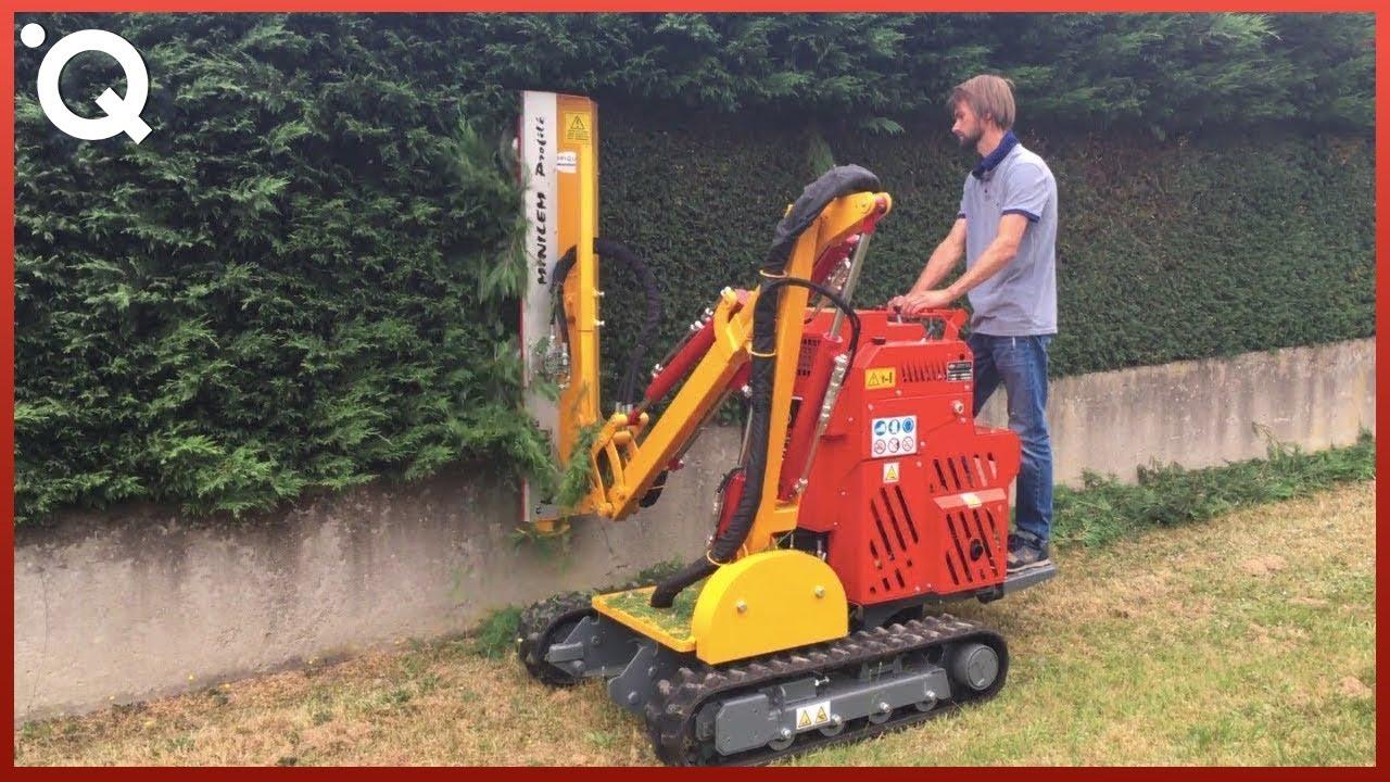 Невероятни машини за рязане на трева и находчиви инструменти