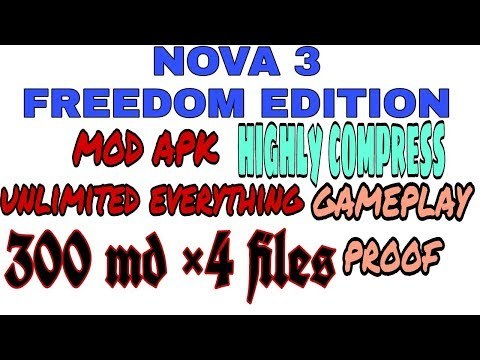 Nova 3 freedom edition mod on android apk data highly compressed