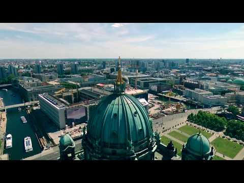 Berlin Cathedral, City Palace and Old National Galery