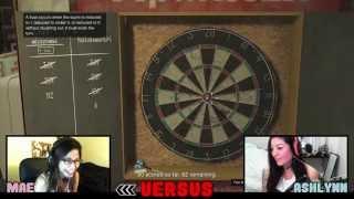 GTA 5 Online | Versus Ep. 1 - Darts Against @ashlynnarias (Lemon Challenge)