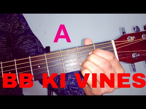 BB Ki Vines Latest Song -Sang Hoon Tere Easy Guitar Lesson
