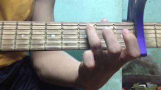 Hướng dẫn guitar intro ca khúc : Chiều hôm ấy - Jaykii phần 1
