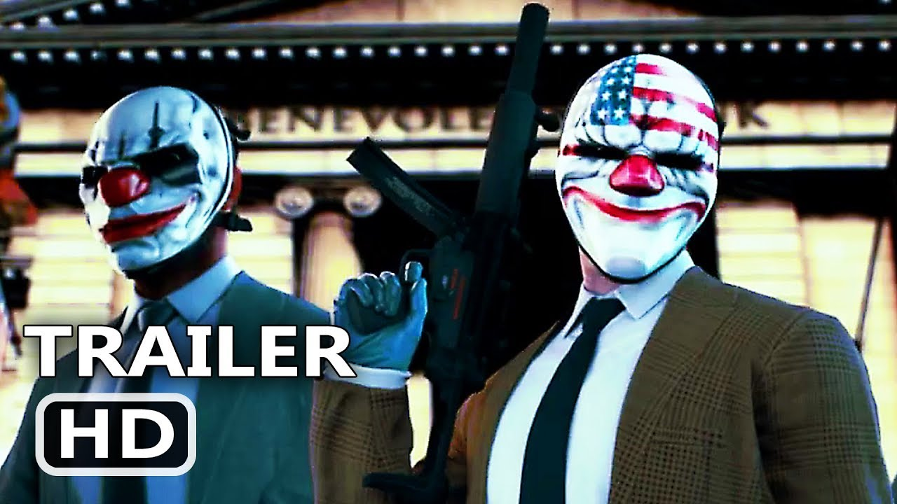 Ps4 Payday 2 Crimewave Collection Trailer 2019 Youtube
