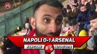 Napoli 0-1 Arsenal | This Competition Is Below Us! (Moh)