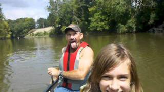 Canoe trip on the tuscarawas river