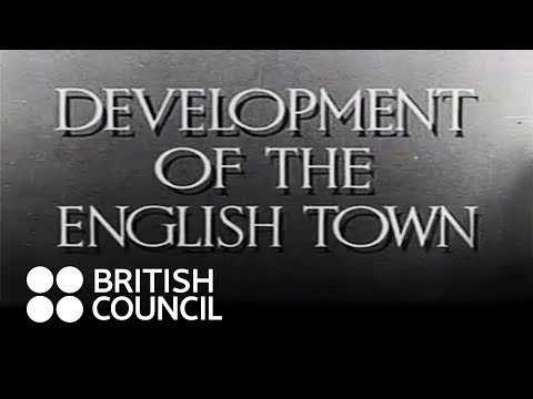 Development of the English Town (1942-43)