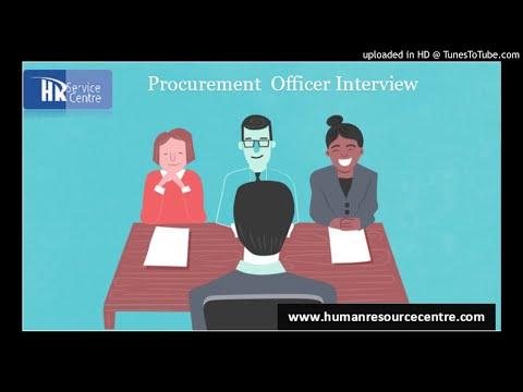 Procurement Officer Interview