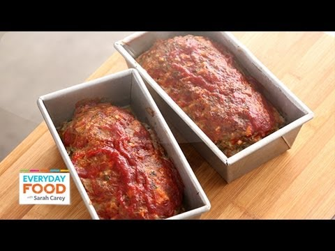 Meatloaf with Chili Sauce Everyday Food with Sarah Carey