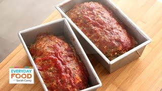 Meatloaf With Chili Sauce - Everyday Food With Sarah Carey