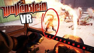 BRUH   Melted NAZ S in Virtual Reality   Wolfenstein Cyberpilot VR Gameplay
