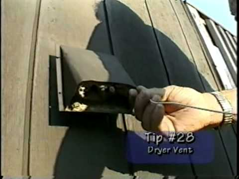 Dryer Vent Cleaning Do It Yourself Youtube