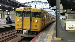 JR西日本115系 普通琴平行き 丸亀発車