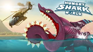 BUZZ The Helicoprion ATTACKS!!! - Hungry Shark World | Ep 49 HD