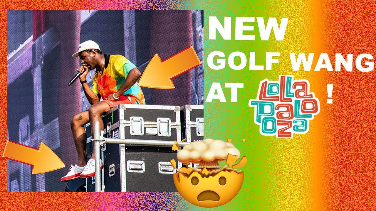 3924848c2ec270 TYLER WEARING NEW GOLF AT LOLLA 👀🤯 (SHOES
