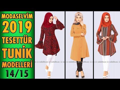 #Modaselvim 2019 Tesettür Tunik Modelleri 14/15 | #Hijab #Tunic | #tesettür #tunik