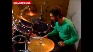 Steve Gadd: The Mozambique with 4 Sticks and different Tempos