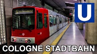 🇩🇪 Cologne Light Rail - Köln Stadtbahn (2019)
