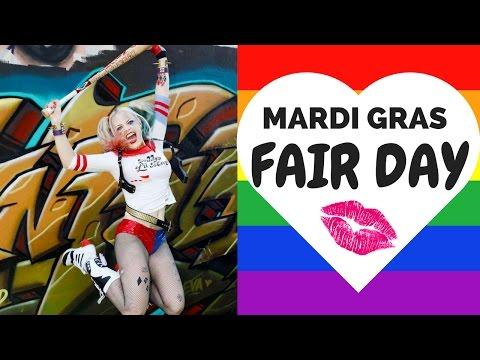 Infamous Harley Quinn: Sydney Mardi Gras Fair Day!
