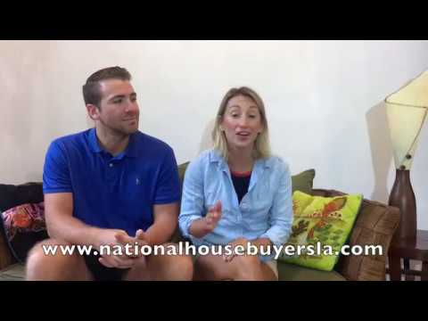 nationalhousebuyersla.com 985-796-7845 Brad and Sandy's testimonial