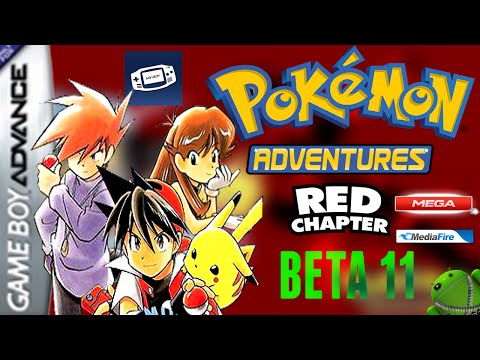 pokemon adventure - red chapter gba rom download final version