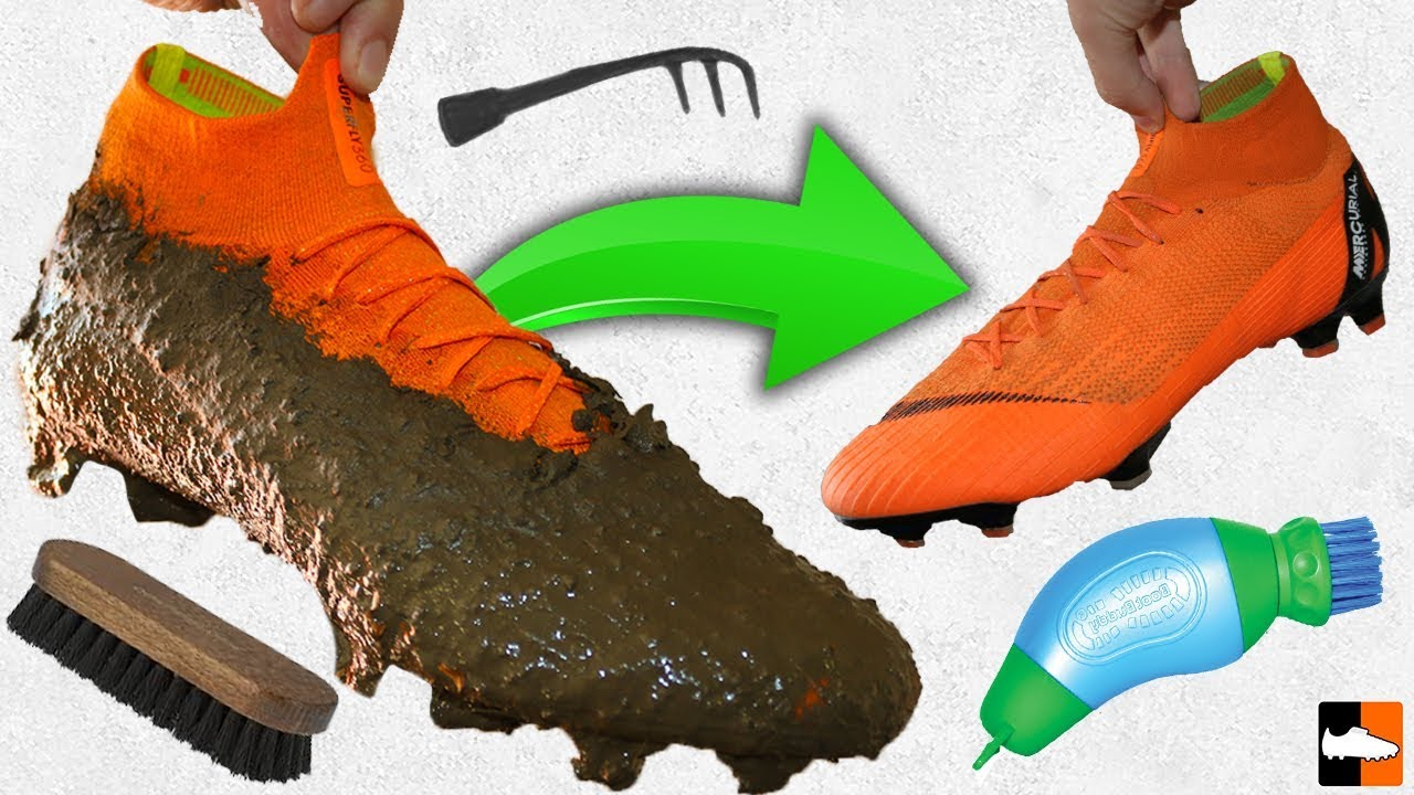 official photos 44c22 14c63 How To Clean Your Boots! Ultimate ⚽ Cleaning Hacks! Football Boots