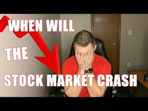 When Is The Stocks Market Going To Actually Crash?! 2020 Recession?