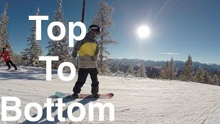 Skiing in Colorado - Opening Day Keystone 2016 2017 Top to Bottom Run