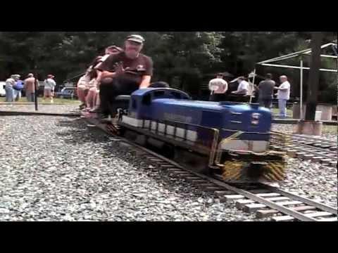 The Waushakum Live Steamers 2011 Van Brocklin Meet