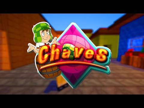 Minecraft: CHAVES - FUI MORAR NA VILA DO CHAVES!