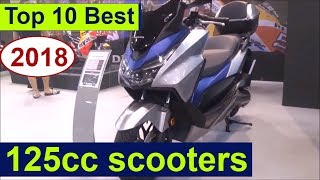 The Top 10 best 125cc scooters for 2018