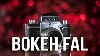 Glamour bokeh háttér készítése és fotózása