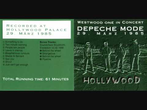 DEPECHE MODE: shout live hollywood 1985