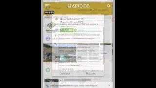 COMO BAIXAR MINECRAFT 0.13.0 (APTOIDE)