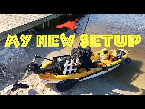 🚣🏼How to Mount a Trolling Motor on Kayak | My Portable Setup on A Pelican Icon 100x Overview