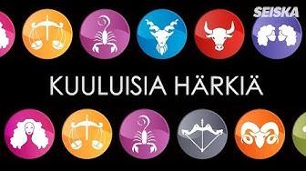 Seiskan horoskooppi – kuuluisia härkiä!