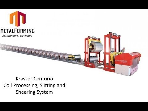 Krasser Centurio Automated Metal Cutting and Coil Handling System