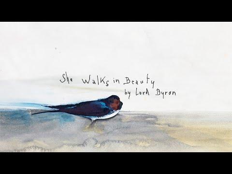 Marianne Faithfull with Warren Ellis - She Walks in Beauty (Lyric Video)