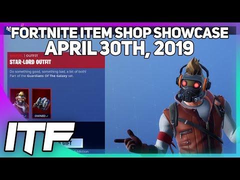 Fortnite Item Shop LAST SHOP OF APRIL! [April 30th, 2019] (Fortnite Battle Royale)
