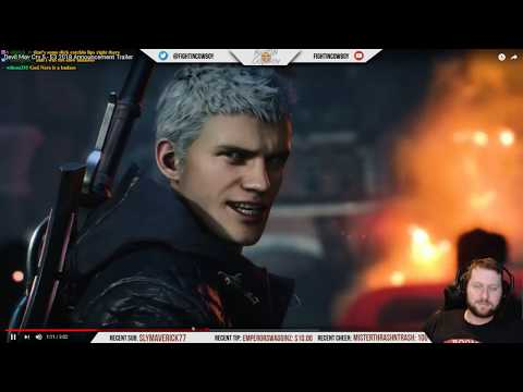 Devil May Cry 5 Reveal Trailer - Analysis and Reaction thumbnail