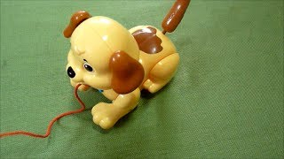 Fisher Price Lil Snoopy Pull Along Puppy Dog Review - Pull Behind Toy