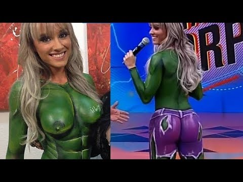 Incredible Hulk Body Paint
